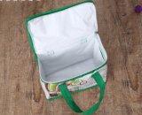 Saco mais fresco isolado Foldable portátil do almoço do saco