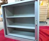Кухонный шкаф шкафа двери Tambour регулируемых полок хранения документа