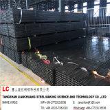 En10219 negro Tubo de acero del tubo de reg /20 *20*1.2 *6 M