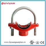 승인되는 화재 관 이음쇠 연성이 있는 철 홈이 있는 기계적인 티 FM/UL