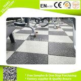 EPDM gránulos de caucho azulejos de suelo por cubierta Gimnasio Pisos