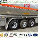 Della Cina rimorchio di alluminio di vendita caldo del serbatoio di combustibile dei 3 assi di Shengrun del fornitore del rimorchio semi semi