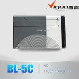 Batería recargable 3.7V 600mAh Bl-5c del Li-ion del precio al por mayor del enchufe