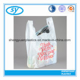 عالة يطبع بلاستيكيّة [ت-شيرت] حقائب لأنّ تسوق