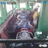 Draga di aspirazione della cesoia idraulica da 14 pollici con il tubo 350mm di 2000m