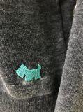 Модный пуловер ватки простоты для женщин с прогаром