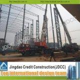 Estructura en voladizo de acero de construcción