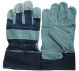 Kuh-aufgeteilte lederne Handschuhe (CS1127)