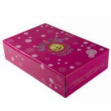 Caixa de empacotamento de papel impressa da cor cheia (FP007)
