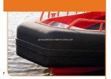 Aqualand 26feet 8m no llenas de aire Tubo / sólido de espuma EVA Fender D-tipo rígido barco inflable / costilla Barco (rib800)
