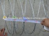 熱い浸された電流を通されたかみそりの有刺鉄線(工場)