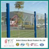 Geschweißter Maschendraht-Zaun beschichtetes /PVC schweißte Maschendraht-Zaun-Metallzaun-Panel