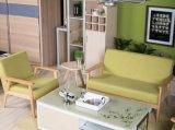 Estrutura de madeira sólida sofá (M-X2179)