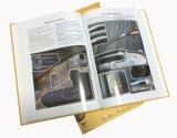 Couverture rigide de haute qualité pour le livre coloré imprimé