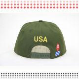 Зеленый Snapback с головными уборами кожаный ремешок