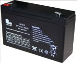 6V إنذار الطاقة القابلة لإعادة الشحن في حالات الطوارئ مختومة بطارية VRLA