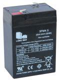 6V 알람 전원 비상 충전식 VRLA 전지를 밀봉