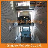 Parcheggio idraulico automatico dell'automobile dei due paletti doppio