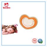 심혼 모양 신생 아기 고무 젖꼭지 무료 샘플