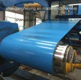 Bobine en acier galvanisé pré-peintée / PPGI / acier revêtu pour toiture