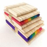 1000本のバルク明白な木のクラフトのアイスキャンデーの棒