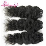 Pelo natural Remy de Remy del cabello camboyano natural del 100%