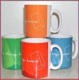 Ceramic promozionale Mug con Silicone Lid