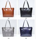 Sacos de Tote de couro macios das bolsas das mulheres (LDO-01691)