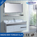 高品質のミラーとの壁に取り付けられたステンレス鋼の浴室の虚栄心