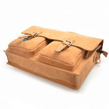 2017 Meilleure vente Mens sacoche pour ordinateur portable sacoche messager en cuir d'importation