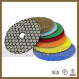 Marble Granite Polish를 위한 유연한 Dry Diamond Polishing Pad