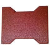 De kleine Tegel van het Type van Been van de Hond Stabiele Gerecycleerde Rubber