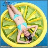 Heißer Verkauf Reiten-auf Flamingo-Zitrone-Krapfen-riesigem aufblasbarem Pool-Gleitbetrieb