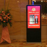 Suelo de 55 pulgadas LCD de pantalla táctil HD Signage