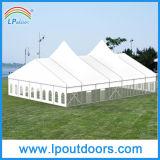 Tenda foranea di lusso di alluminio esterna di cerimonia nuziale della tenda del partito dell'alto picco