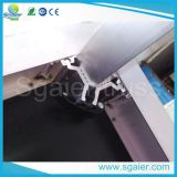 Verwendete bewegliche Stufe-modulare Stufe-faltende bewegliche Aluminiumstufe