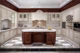 2016 Welbom sólidos de madeira de ácer vidraças de café armário de cozinha projetada