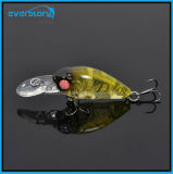 Hot an Mini Swinger Crank Hard Fishing Lures Chine 35mm 3.8g Crankbait Bkk Crochet Profondeur 1.6-2m Trappe de pêche à la carpe