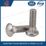 DIN603 en acier inoxydable de boulons à collet carré à tête bombée