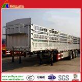 rimorchio del carico all'ingrosso del palo 40-60ton/rete fissa semi per la mucca