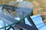 Redonda pequeña mesa de vidrio templado vidrio /mesa