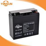 batterie solaire de 12V 17ah pour le système portatif de panneau solaire