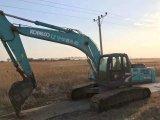 Máquina escavadora usada japonesa original Kobelco Sk260-8 da esteira rolante do equipamento de construção (feito em 2011)
