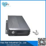 4CH HDの手段の2つのSDのカード組み込み3G、GPSおよびBeidouのモジュールが付いている移動式デジタルビデオレコーダー