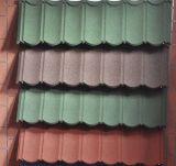 Prezzi delle mattonelle di tetto del metallo della pietra delle mattonelle di tetto della costruzione galvanizzati coprendo strato