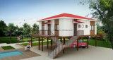Casa modular de la isla conveniente que estaciona