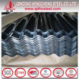 Strato d'acciaio rivestito tuffato caldo del tetto dello zinco