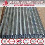 La norme ASTM A653M Gi Fer Zinc galvanisé acier ondulé tôle de toit