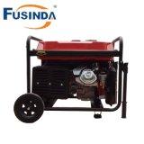 Preço do gerador fase trifásica/monofásica, gerador 5kw da gasolina do motor para a venda