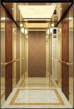 L'or titanique en bois plein a corrodé l'ascenseur de passager